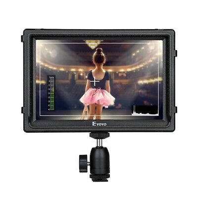 E7S 7 Inch On Camera Field Monitor 1920x1200 IPS Display Supports 4K HDMI Input