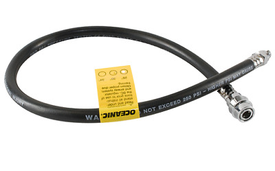 """Quick Disconnect Hose for BCD - 12 to 36"""" sizes - Scuba Diving - LPQD"""