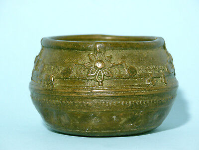 Tibetan Bronze Butter Bowl #1