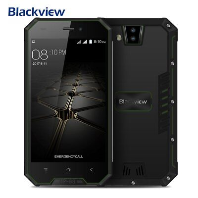 Outdoor Blackview BV4000  Android 7.0 3G 8GB 8MP 2-SIM Unlocked Smartphone Handy