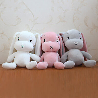 Fashion Soft Plush Sweet Cute Stuffed Rabbit Animal Doll Baby Kids Toy Hot Sale!