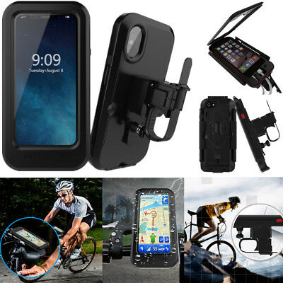 finest selection d9195 44191 WATERPROOF CELL PHONE Holder Motorcycle Bike Handlebar GPS Bicycle Mount  Case