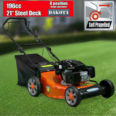 "NEW 21"" Lawnmower Self Propelled 196cc 4-stroke Self-Propelled DAKOTA Lawn Mower"