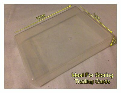 Clear Opec Plastic Trading Card Storage Box For Cards No Larger than 9.5cm x 7cm