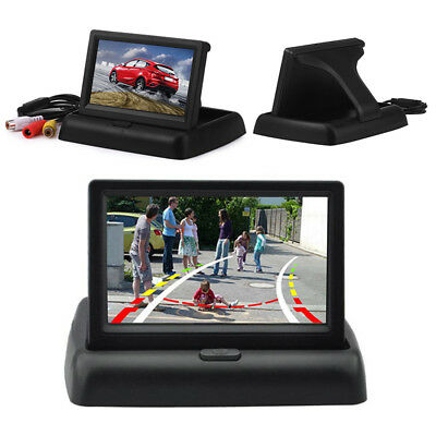 Auto Car LCD TFT Rear View Backup 4.3'' 12V HD Monitor Display Screen Player NM7