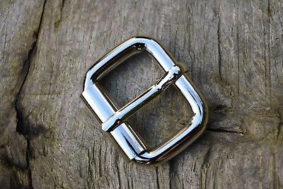 Metal Roller Buckle TO FIT 35mm Strap NICKEL SILVER HEAVY DUTY  pack of 5