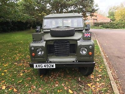 """land rover series 3 88"""" military"""