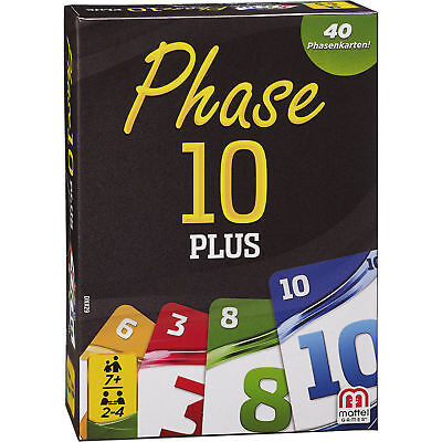Neu Mattel Phase 10 Plus 5049314