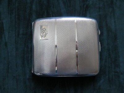 Silver Cigarette Case fully Hallmarked in good condition