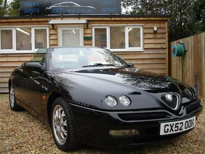 ALFA ROMEO SPIDER T.SPARK LUSSO 16V 2003 Petrol Manual in Black