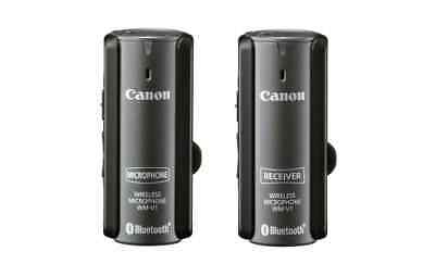 *exc Cond/rare* Canon Wm-V1 Wireless Microphone + Box/accessories - Out Of Stock