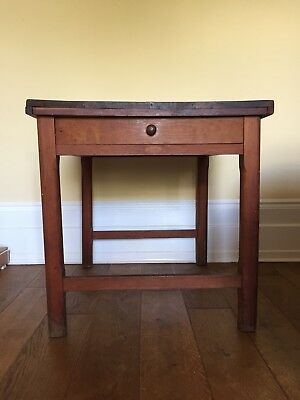 Mappin and Webb table with drawer