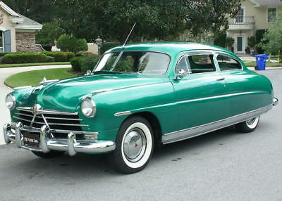 1950 Hudson PACEMAKER DELUXE CLUB COUPE - 500 MI HARD TO FIND RESTORED - 1950 Hudson Pacemaker Deluxe Club Coupe - 500 MI