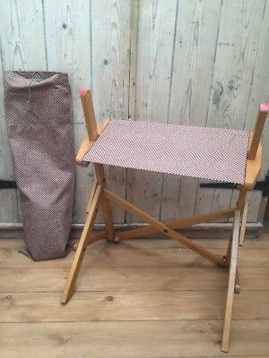 Vintage Folding Chair Artists Chair Camping Chair Shooting Hunting C1950s
