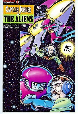 Captain Johner & The Aliens  #2   * First Print *   Nm