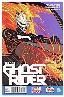 Ghost Rider  #2   * Variant *  Second  Print            Nm