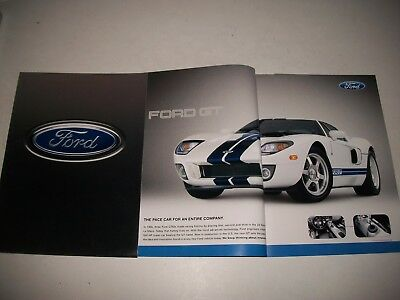 2005 Ford Sales Brochure Ford Gt Mustang Escape 500 Freestyle F-Series Cnd
