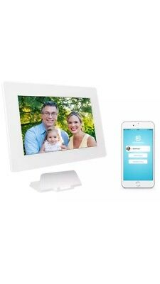 PhotoSpring 10in 16Gb WiFi Digital Photo Frame/Album for Photos/Videos, Battery