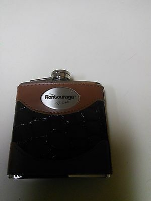 The Rontourage RON WHITE Collectible Stainless Steel Flask Black Grouse NEW