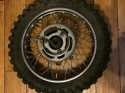 1980 1981 Honda CR80 rear wheel