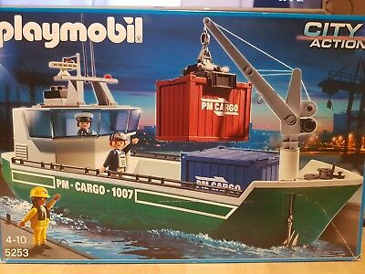 Playmobil Containerschiff 5253