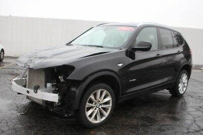 2014 BMW X3 xDrive28i 2014 BMW X3 xDrive28i Damaged Wrecked Repairable! Priced To Sell! Won't Last!