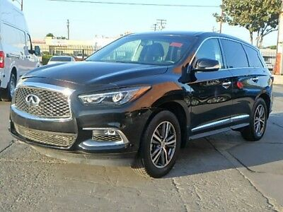 2016 Infiniti QX60  2016 Infiniti QX60 Wrecked Rebuilder Luxurious Loaded Low Miles Nice Project!