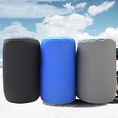 "7"" x 12"" Micro Beads Tube Pillow Lumbar Roll Cushion for Back Leg Neck Support"