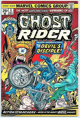 Ghost Rider #8 (Marvel Comics 1974) Vf+ (First App. Of Inferno!) Gil Kane! 8.5