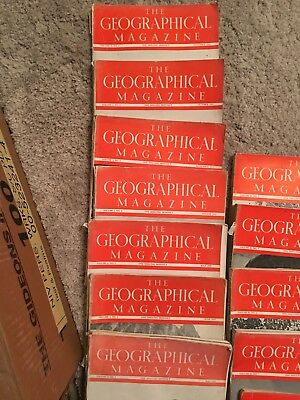 National Geographic antique 1935-1939