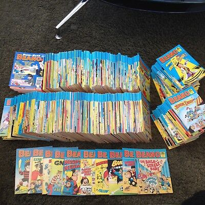 294 different Beano comic library books huge collection MUST LOOK dandy