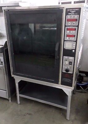 Henny Penny SCR-6 rotisserie oven with racks, digital controls, 240v 1ph