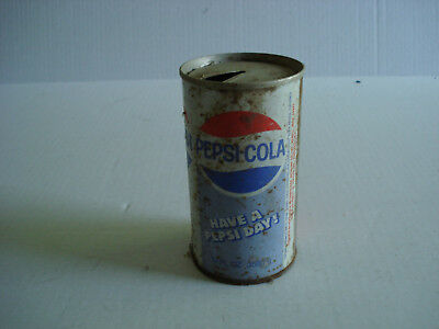 """Flat Top Pepsi Cola Can, Vintage, """"Have a Pepsi Day"""", FREE Shipping"""