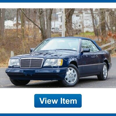 1995 Mercedes-Benz E-Class Base Convertible 2-Door 1995 Mercedes Benz E320 Convertible W124 Low 73K mi Serviced Roadster CARFAX