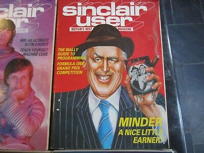Group 6 Authentic Sinclair User Magazines Jan-Jun 1985
