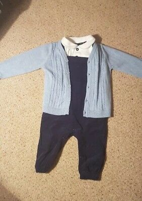 baby boy dungaree outfit 9-12months spanish traditional