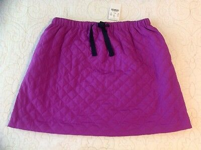 Crewcuts Quilted Purple Skirt, Girls Size 14