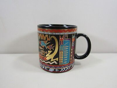 Laurel Burch Artifacts Cat Mug ~ Beautiful Clean Condition!!