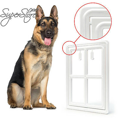 All Dog's Needs - Pet/Dog Door for Screens – New Hinge Design Two-Way...
