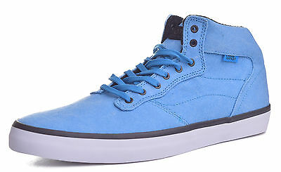 c42d11220697 Vans OTW Mens Piercy Stone Washed Blue Mid Top Skateboard Shoes Choose Size