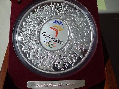 Australia 2000 Olympics 1 Kg Silver $30 Proof Coin (Boxed)