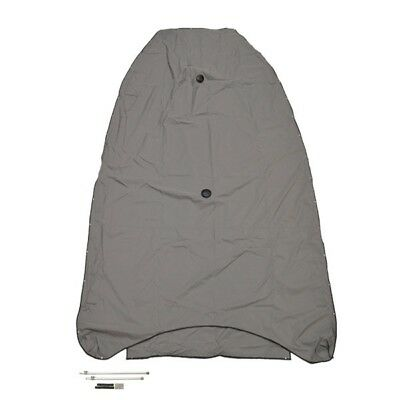 Lund Boat Cockpit Cover 2125811 | 1725 Pro Guide Gray