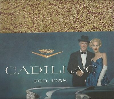 Two Original Cadillac Dealership Brochures 1958 And 1961