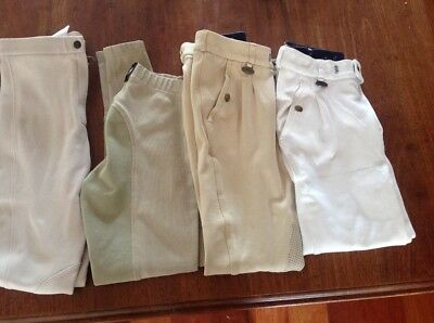 Children's competition jodphurs and breeches to fit 12-13yrs