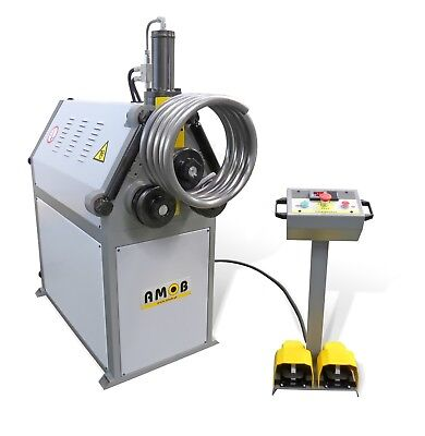 AMOB Power Ring Roller MAH-40/3 Section Roll Bender Rollers Rolls