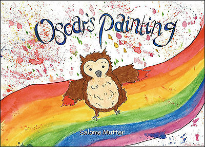 """Bulk, Wholesale 100 copies of """"Oscar's Painting"""" childrens fiction story book"""