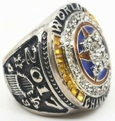 2017 Houston Astros World Series Championship Ring S8-14 Altuve Springer InHand