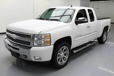 2013 Chevrolet Silverado 1500 LT Extended Cab Pickup 4-Door 2013 CHEVY SILVERADO LT EXT CAB 4X4 SIDE STEPS 20'S 25K #411759 Texas Direct