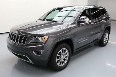 2015 Jeep Grand Cherokee Limited Sport Utility 4-Door 2015 JEEP GRAND CHEROKEE LIMITED 4X4 SUNROOF NAV 9K MI #124365 Texas Direct Auto