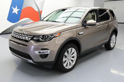 2015 Land Rover Discovery  2015 LAND ROVER DISCOVERY HSE LUX AWD PANO ROOF NAV 34K #523941 Texas Direct